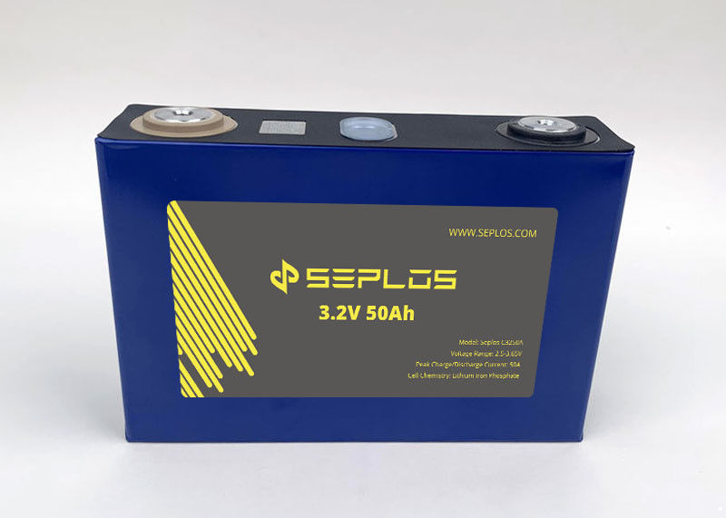 3.2v 50ah lifepo4 prismatic battery solar lithium iron phosphate cells for electric car system